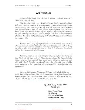 ĐHCN.Giáo trình thực hành cung cấp điện - Trần Thanh Ngọc, 53 Trang.pdf