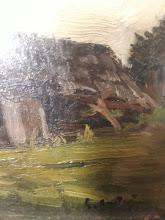 "Tablou ""Casa pe camp"", Eugen Craciun - 152 - poza 3 - Galeria Anton"