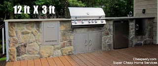 Cheap Outdoor Kitchen 6000 Complete in Houston Enlycom