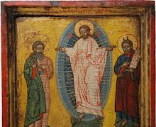 "Icoana romaneasca ""Schimbarea la Fata a Domnului"", sec al XVII-lea - 173 - poza 2 - Galeria Anton"