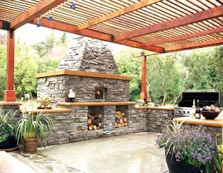 Outdoor Summer Kitchen Set a Amenities on Your Patio