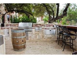 Outdoor Kitchen Austin Rock that Ocf