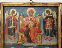 Icoana romaneasca in doua registre, sec al XVIII-lea - 168 - poza 2 - Galeria Anton