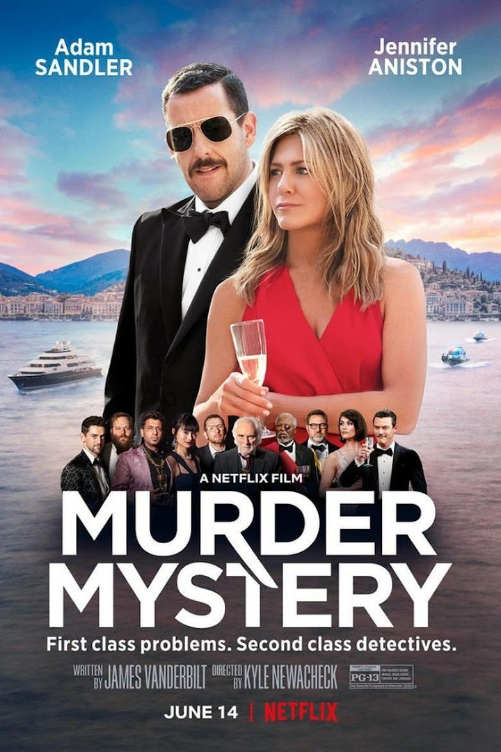 Murder Mystery kurdish poster