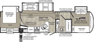 Fifth Wheel Campers with Bunkhouse and Outdoor Kitchen Best 5th Floor Plans Floorplans Camping 5th