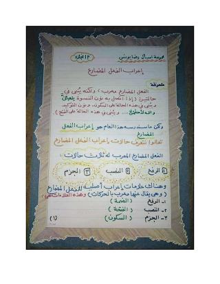 مذكرات نجلاء عبد الجواد talb online طالب اون لاين