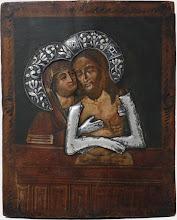 Icoana Maica Domnului Pieta, sec al XVIII-lea, Rusia