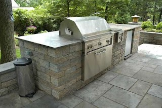 Diy Cinder Block Outdoor Kitchen Modern Creative Images