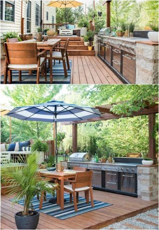 Simple Outdoor Kitchen Ideas 15 Amazing DIY Plans You Can Build on a Budget Diy