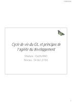 Cycle De Vie D'un GL et Pricipes De l'Agilité Du Développant.pdf