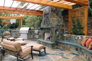 Outdoor Kitchens with Fireplace 21 Insanely Clever Design Ideas for Your Kitchen