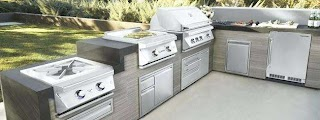 Outdoor Kitchen Grills Reviews Blaze and Weber