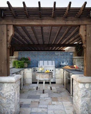 Small Outdoor Kitchen Design 95 Cool S Digsdigs