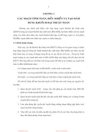 Kỹ Thuật Mạch Điện Tử 2 (Điện Tử Tương Tự 2) - Ts.guyễn Văn Tuấn, 95 Trang.pdf