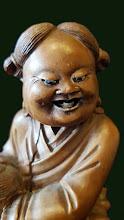 Statueta  din lemn Buddha - 85 - poza 5 - Galeria Anton