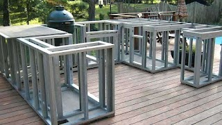 Steel Stud Outdoor Kitchen How to Build an with Metal S Full Size of Island