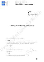 Chap-II champs et potentiel electrique