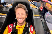 Romain Grosjean e Jimmy Johnson testam nessa quarta em Indianápolis