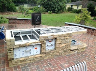 Build Outdoor Kitchen Grill for Download Grills Built in Brick Ou