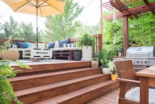Outdoor Kitchen on a Deck Mzing You Wnt to See