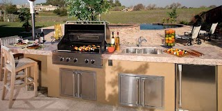 Outdoor Kitchen Countertops The Best for an The Granite Guy