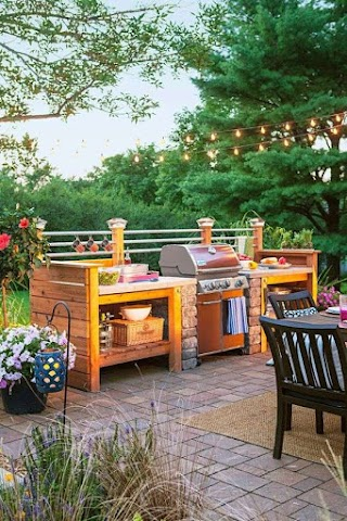 Build Your Own Outdoor Kitchen 15 Beautiful Ideas for S S