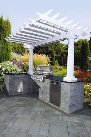 Prefab Outdoor Kitchen Island Image of Astounding S California With