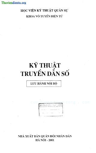 HVQS.Kỹ Thuật Truyền Hình Dẫn Số - Ts. Nguyễn Quốc Bình, 245 Trang.pdf