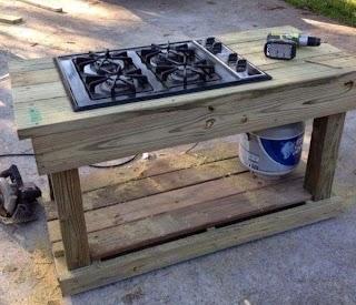 Diy Outdoor Kitchen Island How to Louisville Restore