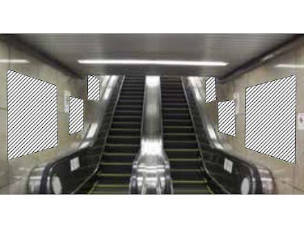 大阪駅エスカレーターシート (御堂筋線連絡)