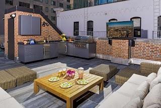 L Shaped Outdoor Kitchen S Design Ideas