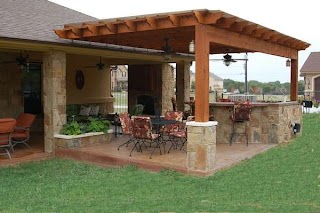 Outdoor Kitchen Designs with Pergolas 31 Amazing Ideas