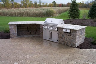 Free Standing Outdoor Kitchens Landscaping Services Woodstream Nurseries
