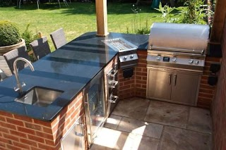 Built in Outdoor Kitchens Bbqs By Fire Magic