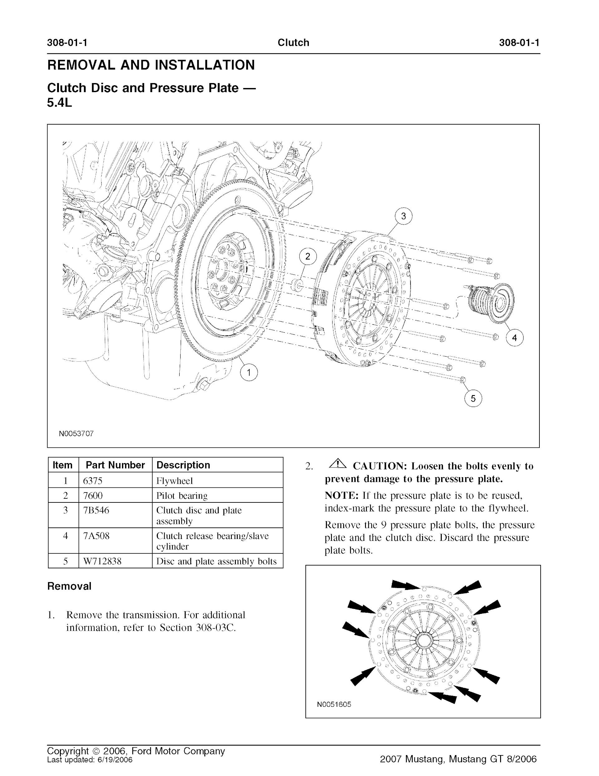 Download 2007 Ford Mustang and Mustang GT Service Repair Manual
