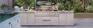 Gasmate Outdoor Kitchen Platinum Iii Bbq Range