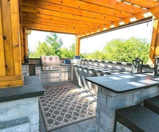 U Shaped Outdoor Kitchen Designs Otdoor S Plans Otdoor Plans Otdoor Ideas L