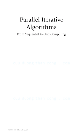 0736098399 {144BD1B6} Parallel Iterative Algorithms_ From Sequential to Grid Computing [Bahi, Contassot-Vivier _ Couturier 2012-01-19].pdf