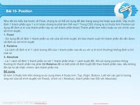 CSS- Bài 10 - Position.pdf