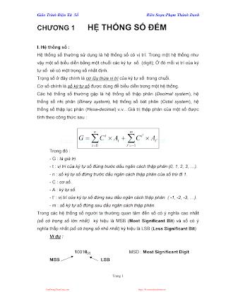 ĐHCN.Giáo Trình Điện Tử Số - Phạm Thành Danh, 84 Trang.pdf