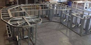 Outdoor Kitchen Frames Kits Frame Kit 1b Small Projects Using Lgsf Diy
