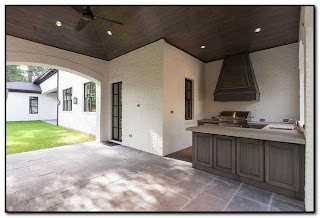 Outdoor Kitchen Vent Hood Design Home