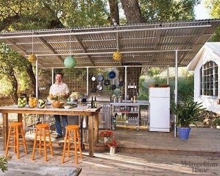 Unique Outdoor Kitchens 2 Stunning Idea Kitchen a Collection