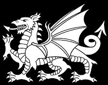 BW Dragon cartoon