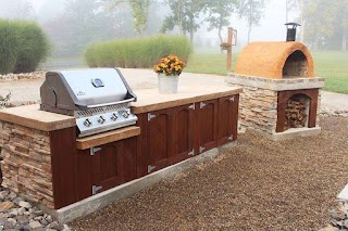 Homemade Outdoor Kitchen How to Make Concrete Countertops for S