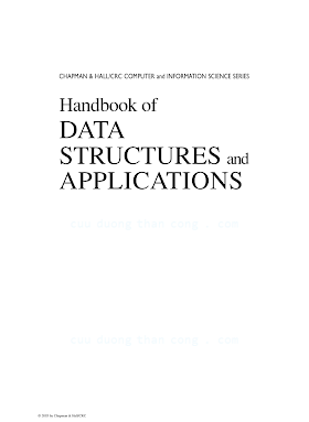 1584884355 {9F26AA22} Handbook of Data Structures and Applications [Mehta _ Sahni 2004-10-28].pdf