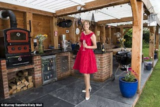 Outdoor Kitchen UK The Latest Trend for Al Fresco Dining Daily Mail Online