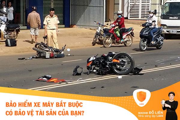 Bảo hiểm xe máy bắt buộc có bảo vệ tài sản của bạn?