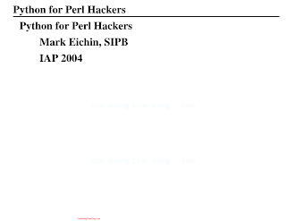 Python for Perl Hackers.pdf