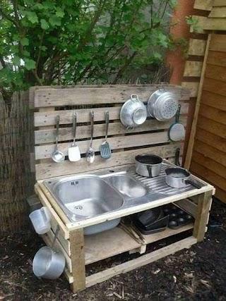 Making an Outdoor Kitchen 20 Mud Ideas for Kids Garden Ideas Natural Family